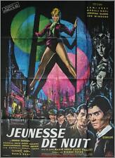 JEUNESSE DE NUIT Movie Poster / Affiche Cinéma Mario Sequi Magali Noël