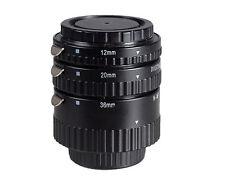 Auto Focus AF Macro Extension Tube for Nikon D810 D5500 D3100 D7200 D750 D3300