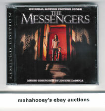 The Messengers (2007) Joseph LoDuca SOLD OUT Ltd Ed 1500 OOP CD Soundtrack