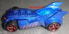 BATMOBILE blue CAR batman DARK KNIGHT matchbox DC UNIVERSE die cast