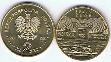 Olympia Pekin 2008 2 Zl Muenze  Bfr