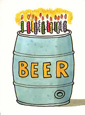 Beer Keg Craft Birthday Party Invitation Invitations By Carlton Cards Set of 10