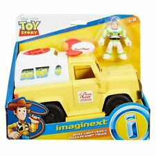 Fisher-Price BUZZ LIGHTYEAR & PIZZA PLANET TRUCK Imaginext Disney Toy Story P...