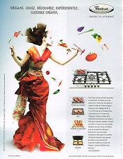 PUBLICITE ADVERTISING 124  2006  WHIRLPOOL   équipement cuisine four, plaques