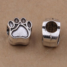 10x Tibetan Silver Animal Bear claw Spacer Beads Jewellery Making Wholesale N810