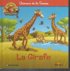 Animaux de la savane.La girafe. De Agostini /  Altaya Z30