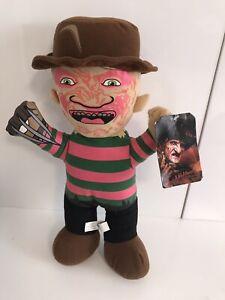 "Freddie Krueger Nightmare On Elm Street Plush Soft Toy Tagged Rare 13"""