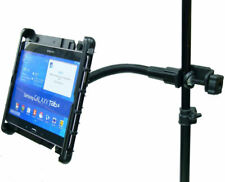 Heavy Duty Music / Mic Stand Tablet Holder for Samsung Galaxy Tab 4, 3 & 2