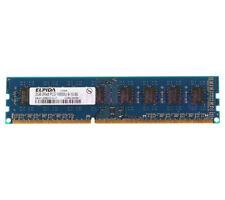 For Elpida 2GB 2RX8 DDR3 PC3-10600U 1333MHz 240PIN DIMM Intel Desktop RAM Memory