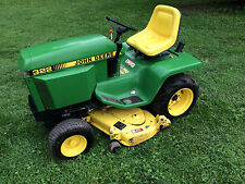"John Deere 322 48"" Garden Tractor Lawn Mower- Delivery Available NJ NY ON QC MA"
