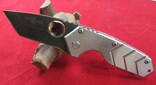 New TwoSun Knives Big Folding FULL Stainless Steel Handle Knife TS18-FS