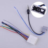 Auto Radio DVD Stereo Kabelbaum Kabel Antennenadapter für Nissan Versa Subaru