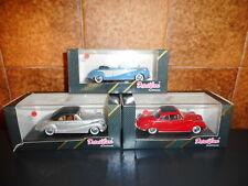 3 DETAIL CAR  1/43  BMW 502  coupé + cabiolet + cabriolet soft top + BOITES