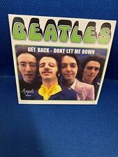 BEATLES GET BACK / DONT LET ME DOWN FROM THE SINGLES COLLECTION MINT/NOT SEALED