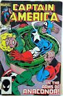 Marvel Captain America Vol 1 310 Comic Book 1985 1st Appearance Serpent Society