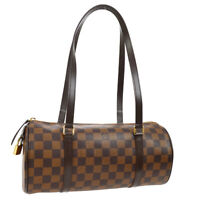 LOUIS VUITTON PAPILLON SHOULDER BAG DAMIER CANVAS LEATHER N41210 AK38033h