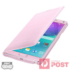 Genuine Original Samsung SM-N910FD Galaxy Note4 Note 4 Leather Wallet Cover Case