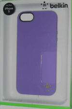 Belkin Shield Sheer Matte Purple iPhone 5/5S Case,FREE US SHIPPING On