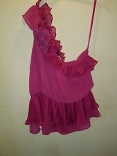 PINK ONE SHOULDER TOP 14 NEW LOOK SUMMER TOWIE HOLIDAY CELEB BOHO PARTY