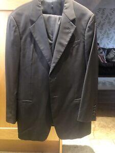 Emporio Armani Black Suit  42r Jacket 34r Trousers.