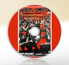 Sheriff Of Tombstone (1941) DVD Classic Western Film / Movie Roy Rogers