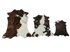 Echtes Mini Kuhfell Varianten Mini peau de vache Mini cowhide Mini pelle bovina