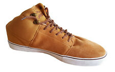 Mens Trainers Skate Animal Leather Brown Shoes size  UK 12 Euro 47