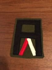 WWI US Army patch First 1st Army Service Battalion Patch AEF