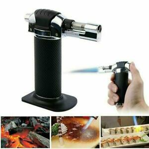 Flame Butane Micro Torch Refillable Gas Cigar Lighter Ignition Blow Torch
