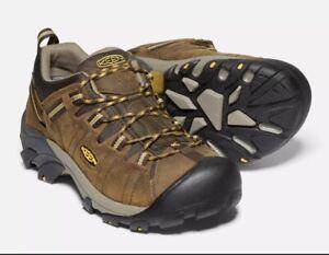 KEEN 1015704 Men's Targhee II Leather Hiking Shoe Cascade Brown SIZE 12 AL291