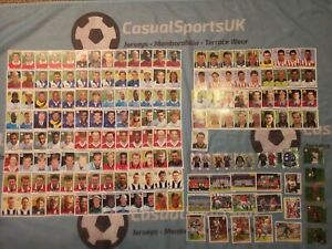 Merlin's Premier League 96 - Job Lot of x 165 Football Stickers - No Doubles