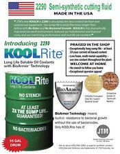 55 gal KOOLRite 2290 SOLUBLE OIL COOLANT cutting fluid CNC Doosan MAZAK Haas