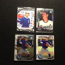 2016 BOWMAN KANSAS CITY ROYALS TEAM SET 18 CARDS  WITH CHROME & INSERTS +