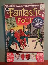FANTASTIC FOUR #11 1.5 complete 1ST APPEARANCE OF IMPOSSIBLE MAN (1963)