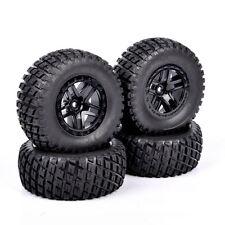 Set 1:10 Short Course Truck Tires &Wheel 12mm Hex For TRAXXAS SlASH RC Car 02&04