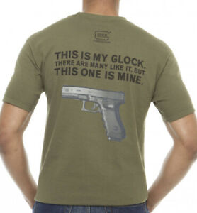 Officially Licensed GLOCK Perfection My Glock T-Shirt - OD Green - Ermey Logo