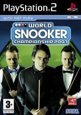 BILIARDO PS2   WORLD SNOOKER CHAMPIONSHIP 2007 Playstation 2   DIGITAL BROS
