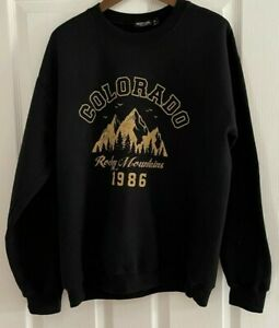 Ladies Nasty Gal Collection Sweater - Size Medium. FREE P+P. Black. Colorado