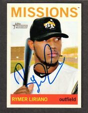 2013 HERITAGE #194  Rymer Liriano  SAN DIEGO PADRES  SIGNED AUTOGRAPH AUTO COA