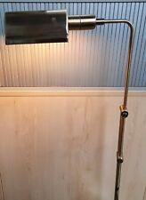 Brass Effect Adjustable Portable Floor Lamp (E/08/CC)