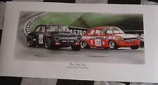 FORD ESCORT MK.1 RS run baby run David Brodie 1968 NUOVA Pittura Stampa Grafica