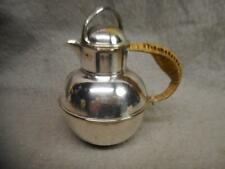 VINTAGE L. B. S. CO. SMALL EPNS  SILVER PLATE TEAPOT NO. 2049 WRAPPED HANDLE