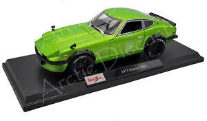 Maisto 1:18 Special Edition Metallic Green 1971 Datsun 240Z EXCLUSIVE