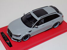1/18 GT Spirit Audi ABT RS6-R in Grey GT159 customized Forgiato Grey Wheels
