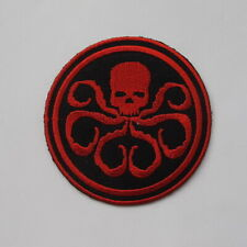 MARVEL COMICS CAPTAIN AMERICA HYDRA EMBROIDERED IRON ON PATCH JACKET JEAN