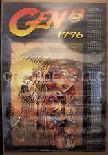 "J Scott Campbell Garner Wildstorm Productions Gen 13 1996 Calendar Poster 24x36"""
