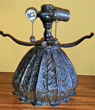 """New Dale Tiffany Cabbage Lamp Base fit for 16"""" Stained Glass Shade Bronze Finish"""