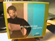 DCC 24K Gold CD's GZS (2) 1079 Ella Fitzgerald Sings The Cole Porter Song Book