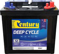 CENTURY D23LT DEEP CYCLE BATTERY SUIT NUMEROUS APPLICATIONS QUALITY AUSTRALIAN M