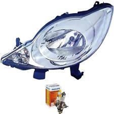 Scheinwerfer links Peugeot 107 Bj. 05-12 inkl. PHILIPS Lampen 758